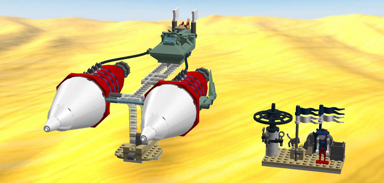 (Vectron JU-1Y) by AlaricSkywalker
