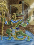 Egyptian God Sobek