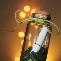 Message In A Bottle by MadSubstance
