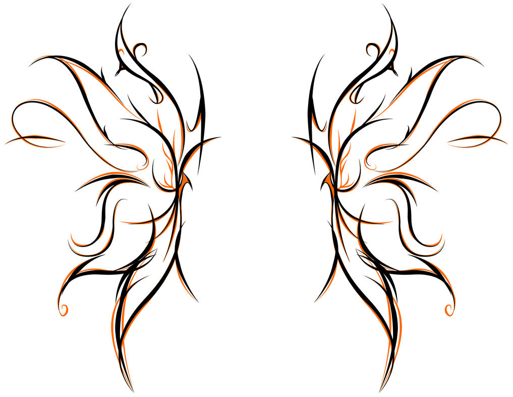 Tribal butterfly by youxknowxnothing on deviantart for Tribal tattoo shops near me