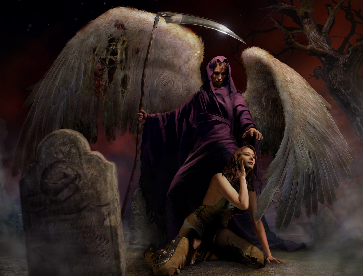 the angel of death and the Gld / pendants / angel of death angel of death.