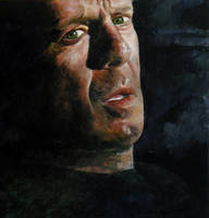 Bruce Willis - Speed Painting by Keriberrygirl