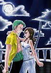 Zoro and Fuu entry