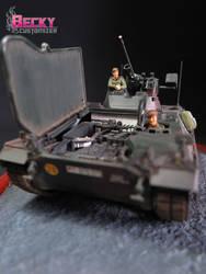 Tamiya's Schutzenpanzer Marder.