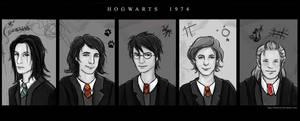 Hogwarts 1974 Yearbook