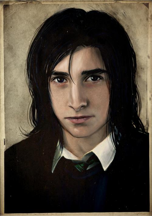 Severus Snape by sikuriina