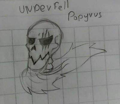 [Undertale AU] Underfell Papayas by Leth-Draws