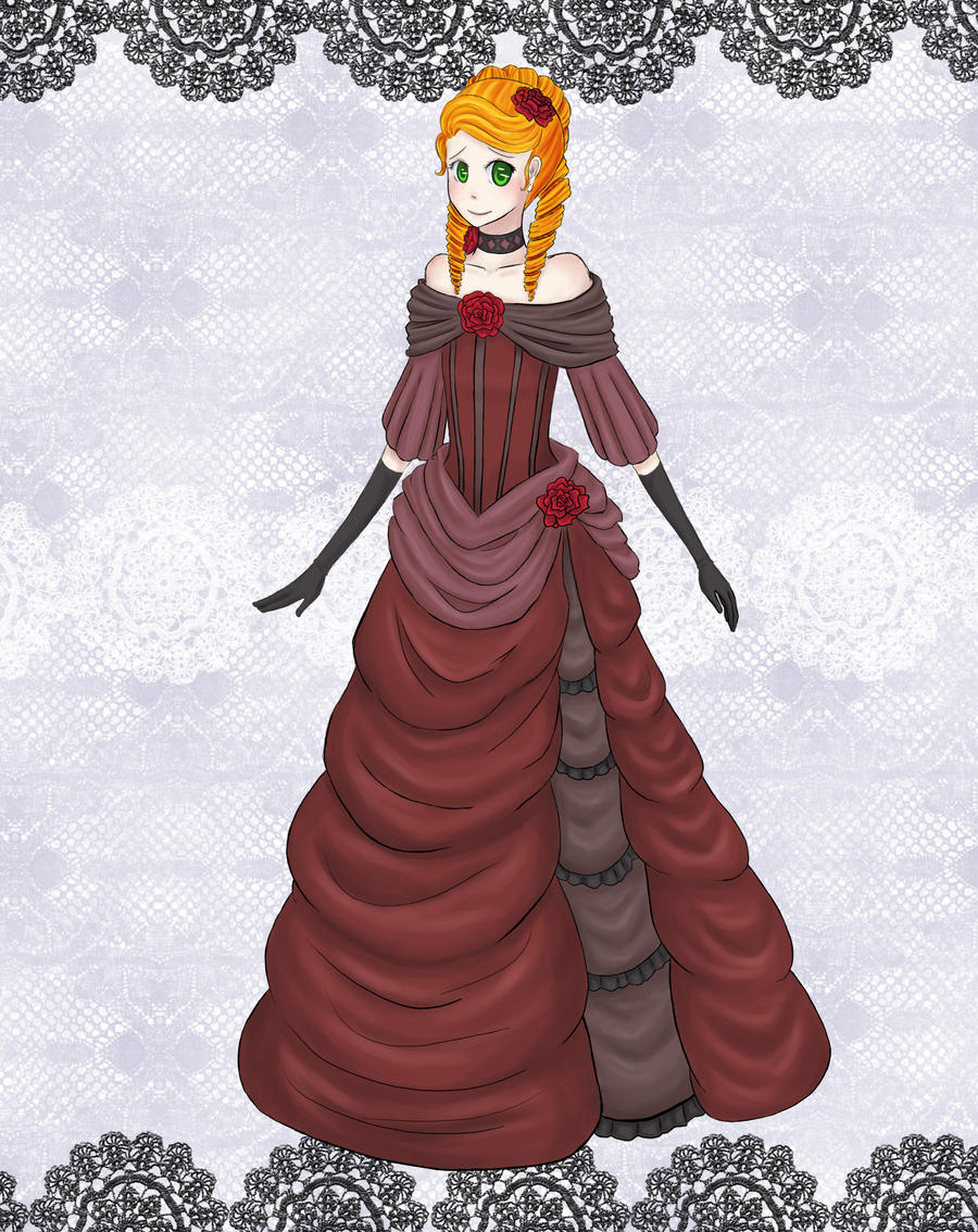 AoH: Winter Ball Gown by AxisRaid on DeviantArt