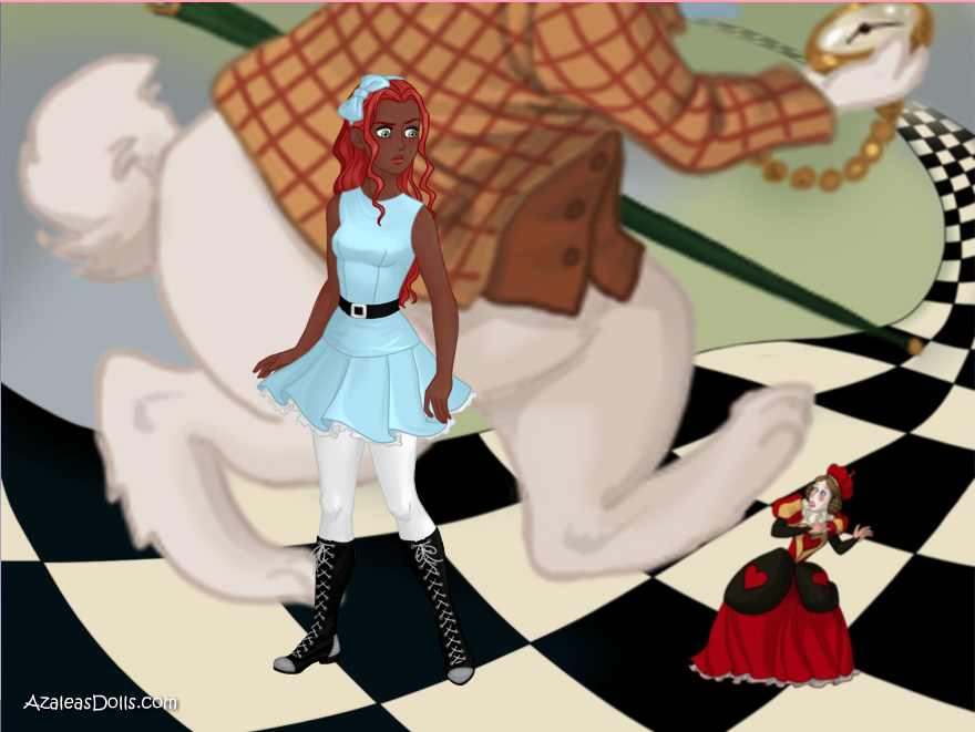Leaving Wonderland by CrimsonFox1385