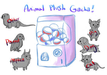 [OPEN] ANIMAL PLUSH GACHA
