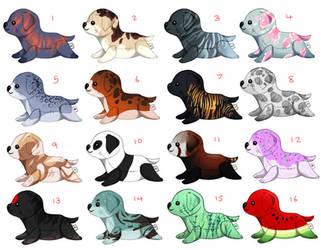 [OPEN] Dog plushies