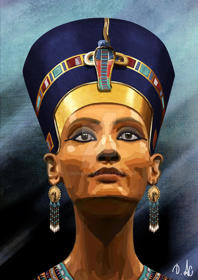 Nefertiti by CDGRAFIK on DeviantArt
