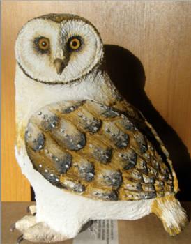 Owl - Paper mache