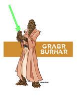 Wookie Jedi by Concepticon