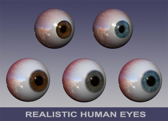 3D Eyes pack by NB-DanTE
