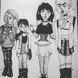 Our future selves. by Cattrooper