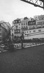 Walking past Lisbon. by Cattrooper