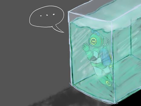 Poor Bubbleman...
