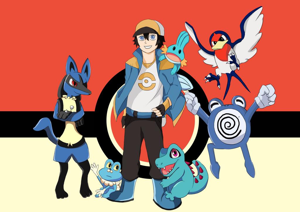 Pokemon Blue Team by IqbalSandy