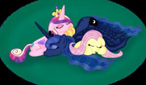 Cuddle Pile by Inurantchan