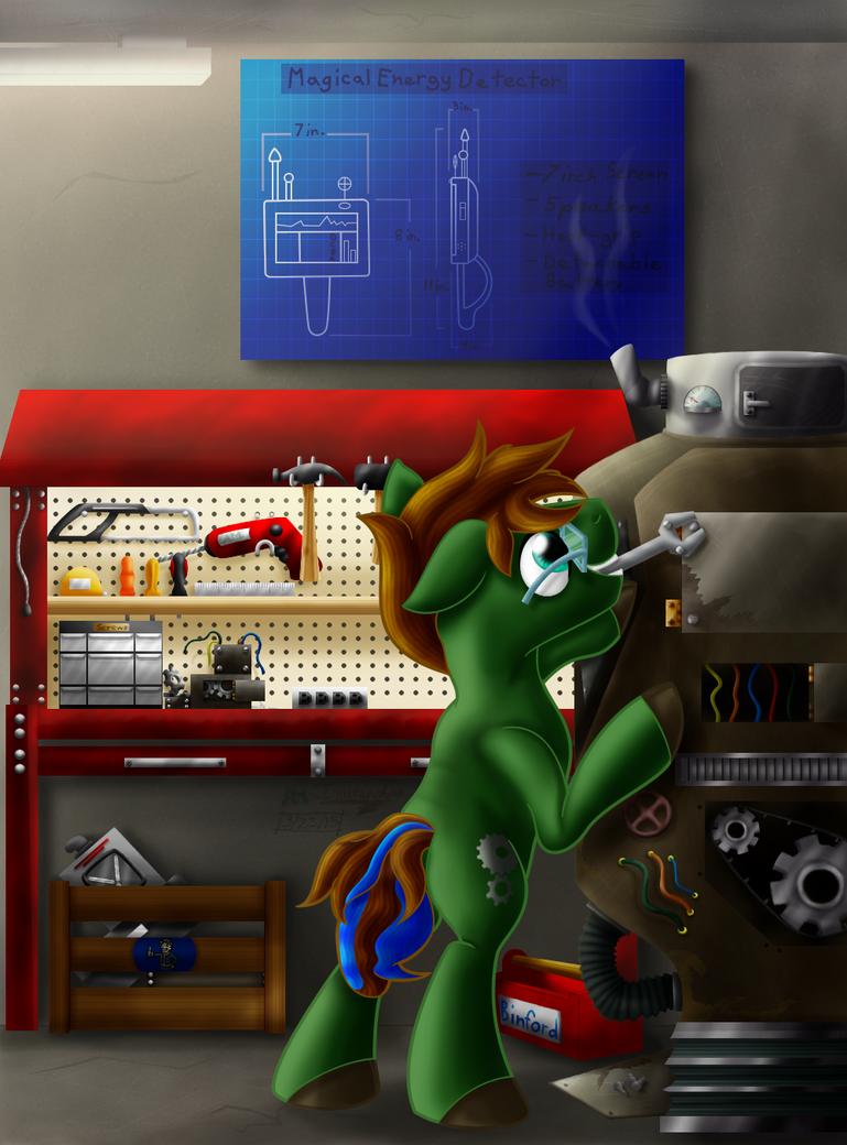 Jake's Workshop by Inurantchan