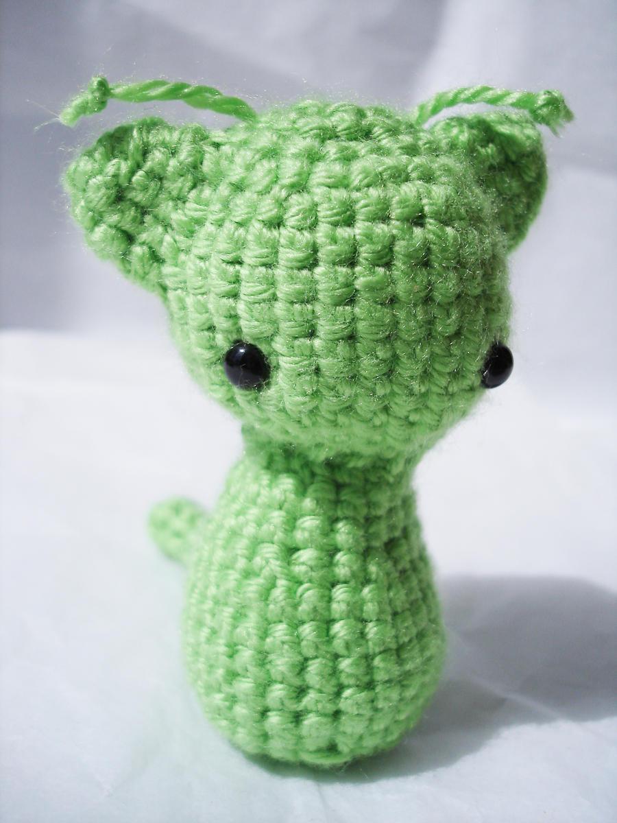 Amigurumi Crochet Difference : Alien Kitty Crochet Plushie by VampireMistressKayla on ...