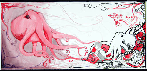 Triptych Panel 3 Beginning by SoiledRainbow