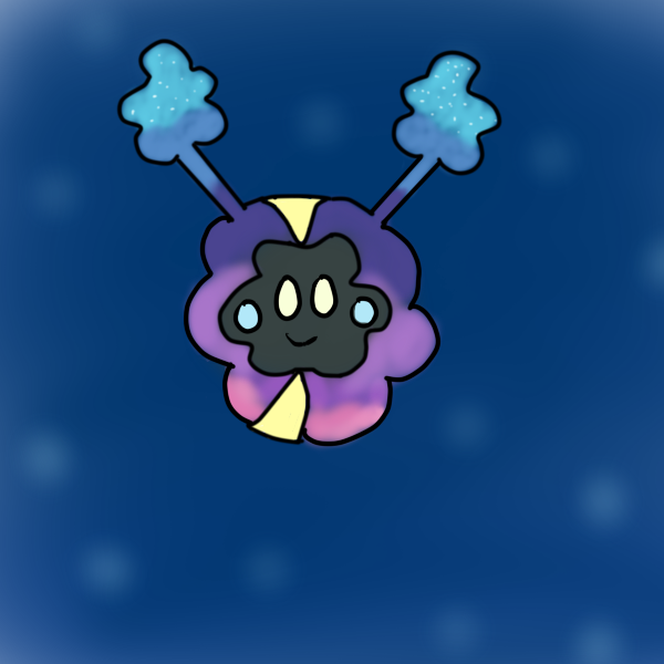 The Very Fluffy and Cute Cosmog by Swirlpuffy