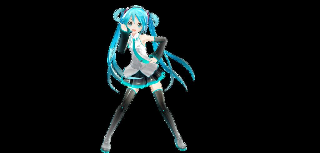 Appearance Miku Hairbun version DL (fixedDL) by asparagusApparatus