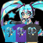 Digital Star Hatsune Miku- We Love Fine Shirt