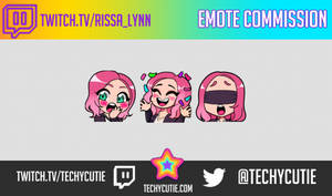 EMOTE COMMISSION- RISSALYNN by Techycutie