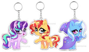 [KEYCHAINS] Reformed Unicorn Trio