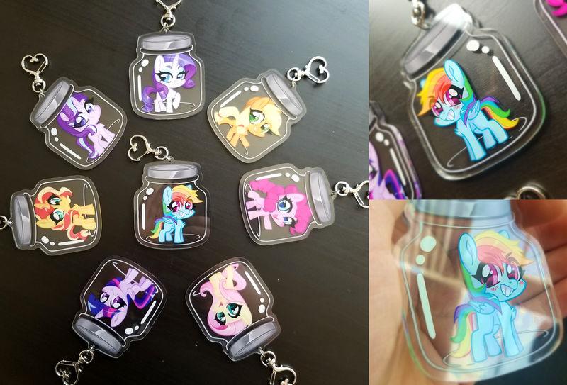 Pony Jars Keychains