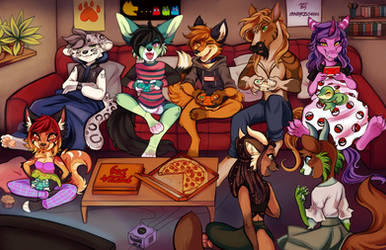 Video Game Night! by Snorechu