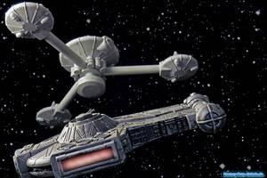 StarWars-StarTrek by volkerheide