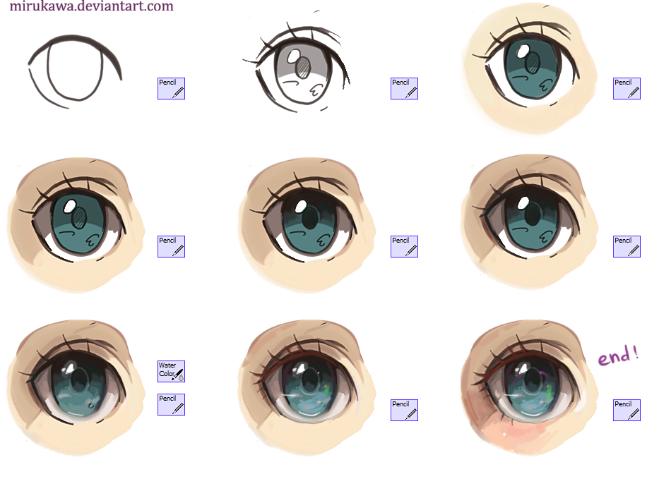 anime eye tutorial by mirukawa