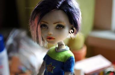 Custom MH Frankie (again :D) by mirukawa