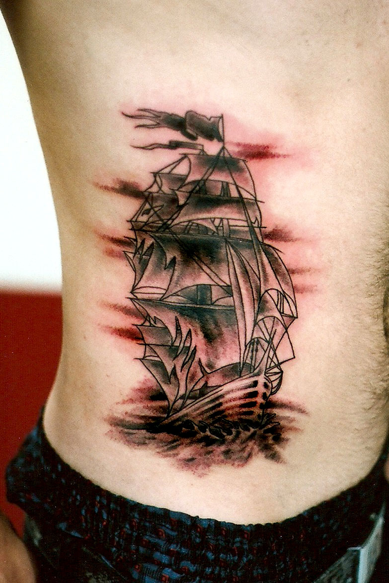 Pirate Ship On The Ribs