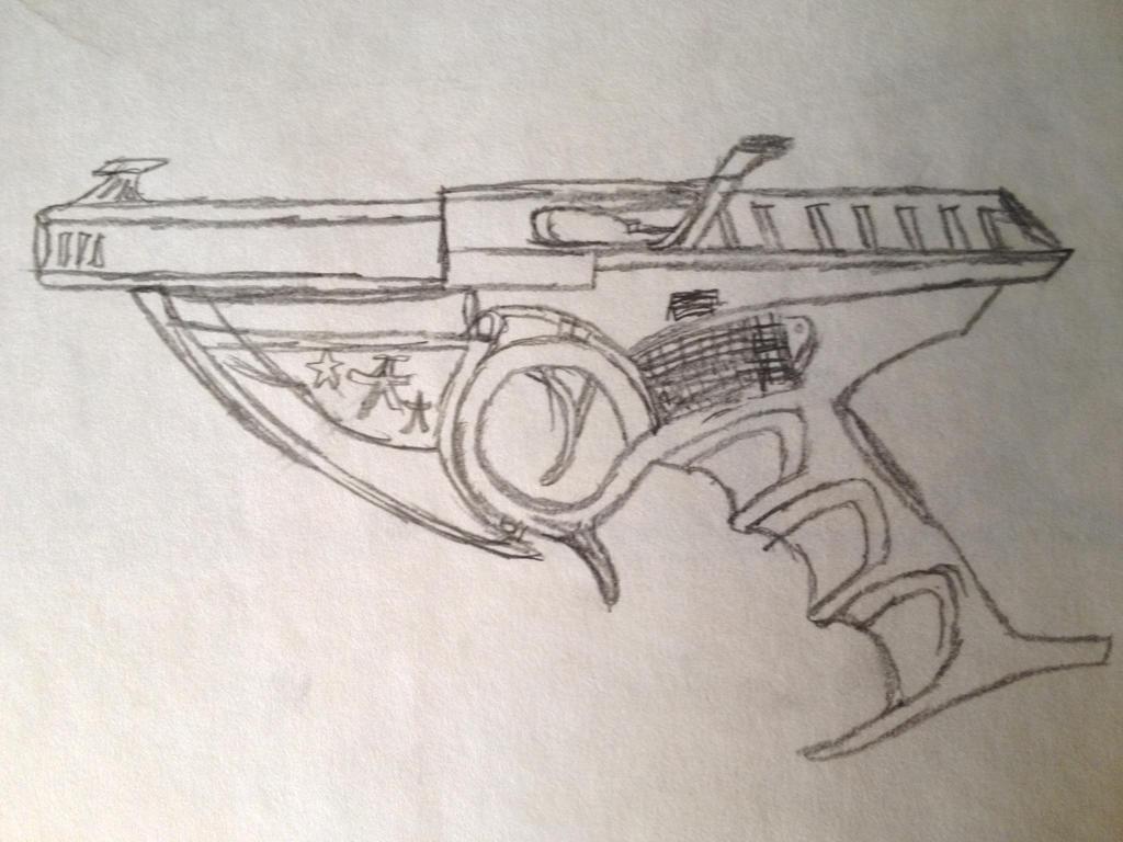 Samari gun by wyatt1001