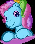 Rainbow Dash Smiling