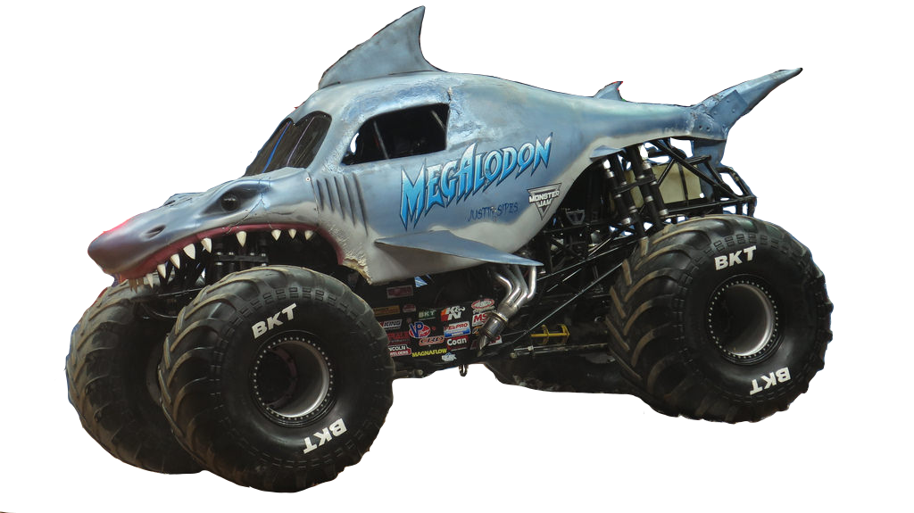 Monster Jam Megalodon Vector #1 by DipperBronyPines98 on ...