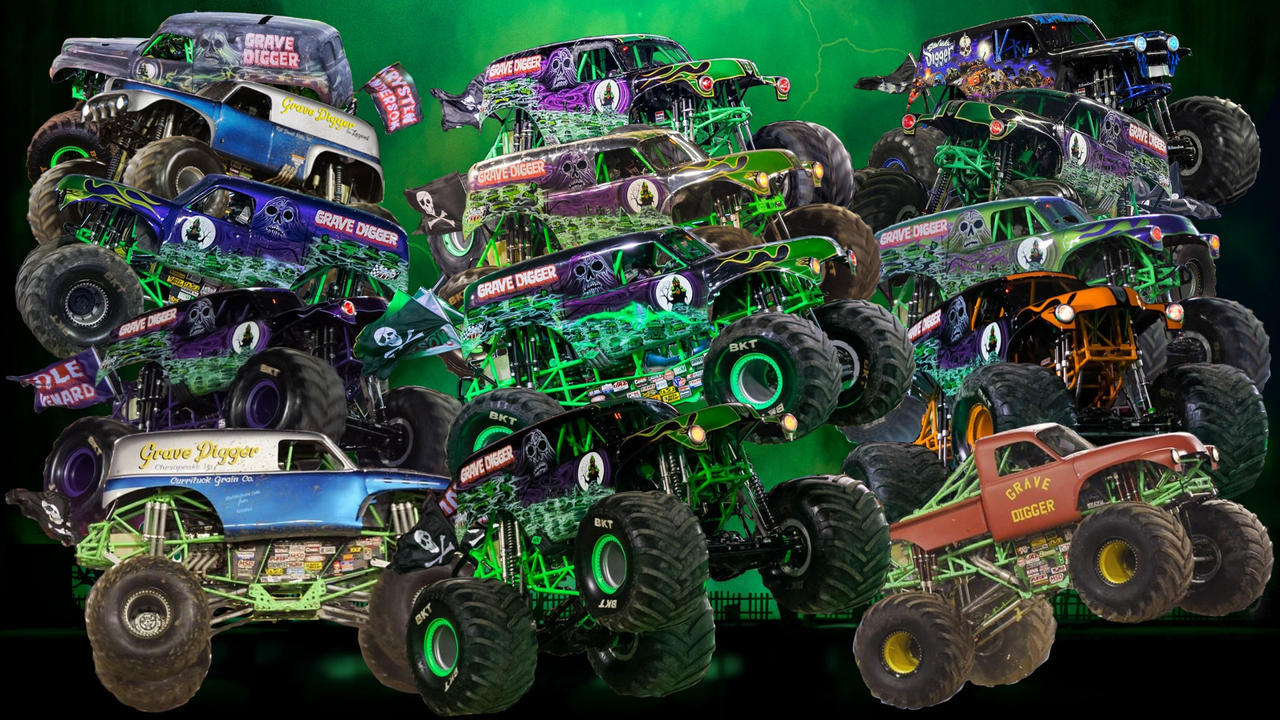 Monster Jam: Grave Digger by