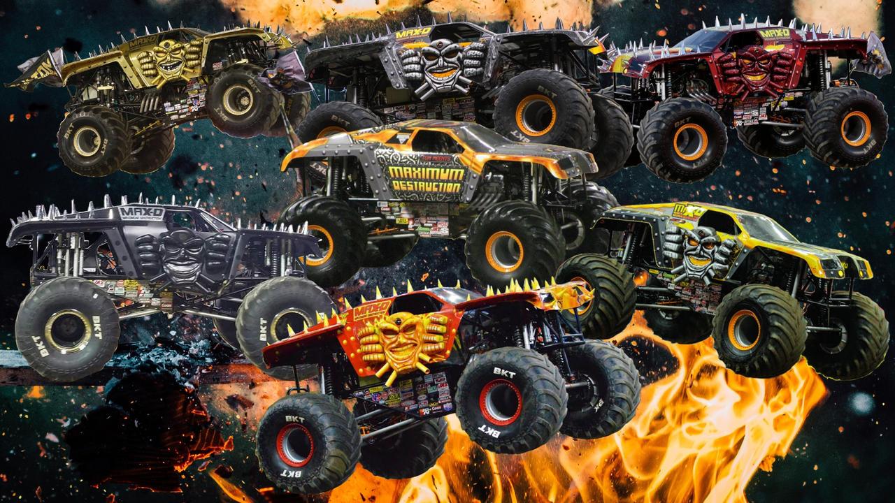 Monster Jam: Maximum Destruction by