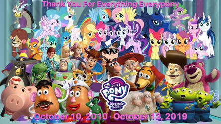 The End Of MLP FIM: Toy Story
