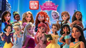 RBTI Disney Princesses Wallpaper