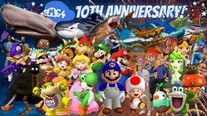 SMG4 10th Anniversary Maneater