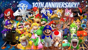 SMG4 10th Anniversary Sonic