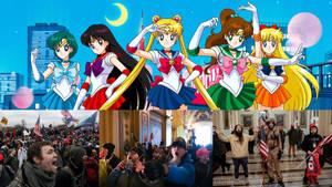 Sailor Guardians VS Capitol Rioters