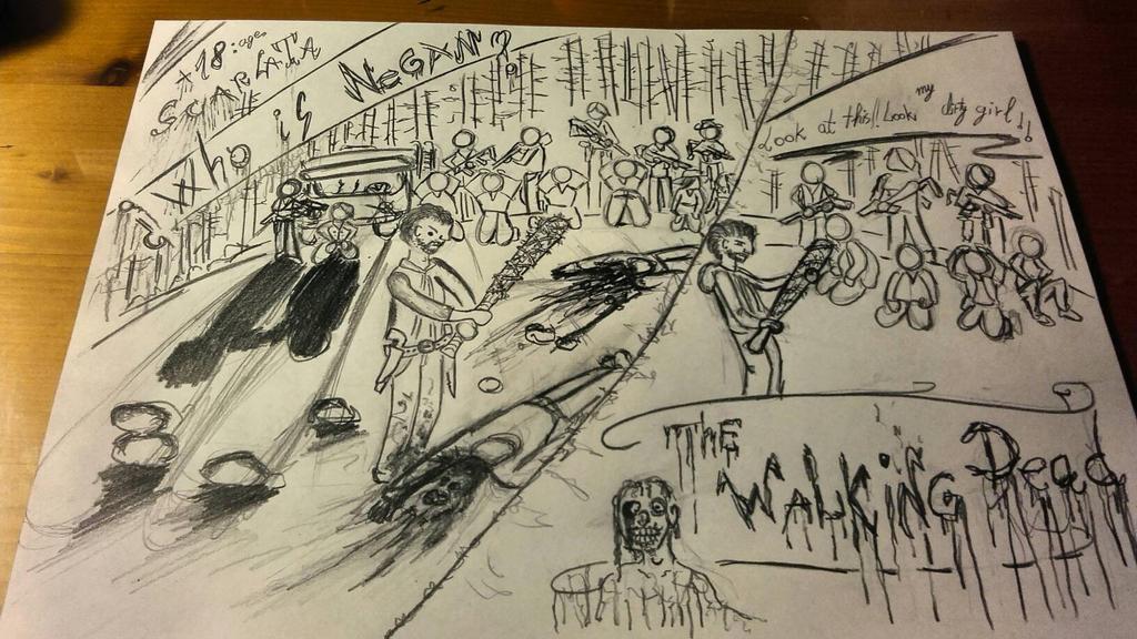 Who is Negan ? -The Walking Dead by Escarlata4166