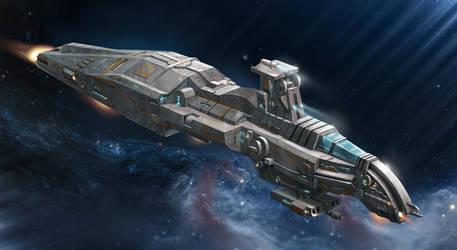 spaceship1 by Rubinaakkai